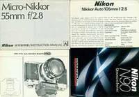 Nikon instruction manuals for Nikon N90, Nikkor Auto 105mmf/2.5, Nikkor Auto 35mm f/2, Micro-Nikkor Auto 35mm f/2.5. by Nikon Corporation (Tokyo) - Paperback - from Alan Wofsy Fine Arts and Biblio.com
