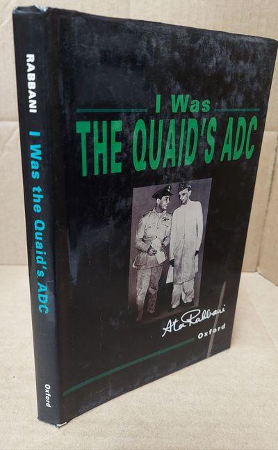 Karachi: Oxford University Press, 1996. Second Impression 1997. Hardcover. Octavo; vg/good; dj, blac...
