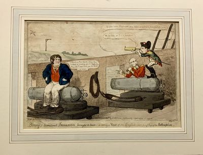 London: S.W. Fores, 1815. First edition. Pictorial Boards. Mat and illustration. Fine. Hand colored ...