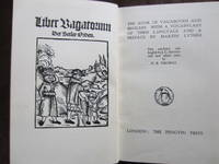 The Book of Vagabonds and Beggars -- with a Vocabulary of Their Language and a Preface by Martin Luther by D B Thomas (ed) - First Edition - from NZ Story and Biblio.com