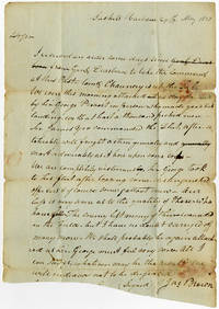[Autograph Letter, Signed, Written to Joshua Hatheway at Rome, N.Y. By General Jacob Brown Describing the Attack on Sackets Harbor]