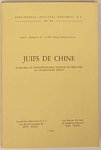 image of Juifs de Chine à travers la correspondance inédite de Jésuites du dix-huitième siècle