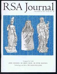 RSA Journal No. 5422 October 1991: The Journal of the Royal Society for the Encouragement of...