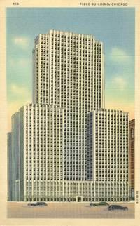 Field Building, Chicago, Illinois, unused linen Postcard