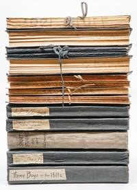 [ARCHIVE OF LITERARY MANUSCRIPTS]. El Comancho (together 14 vols. containing more than 3,000 leaves)