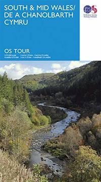 image of South & Mid Wales: De A Chanolbarth Cymru (OS Tour)