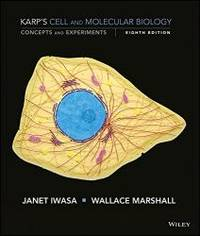 Cell and Molecular Biology: Concepts and Experiments 8e Binder Ready Version + WileyPLUS Learning Space Registration Card by Gerald Karp - 2016-06-02 - from Books Express and Biblio.com