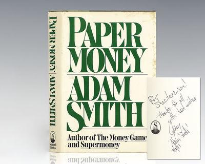 New York: Summit Books, 1981. First edition of this modern classic. Octavo, original half cloth. Pre...