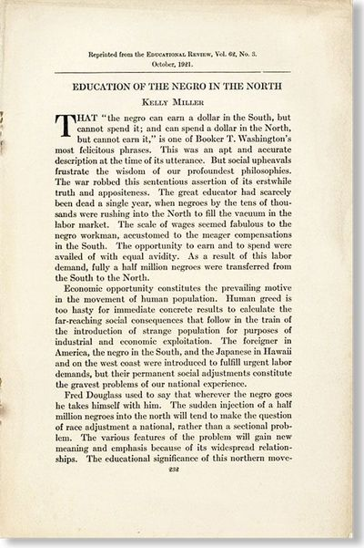 N.p.: by the Author, 1921. Offprint. Octavo. Staple-bound self wrappers; pp.232-238. Mild soil to co...
