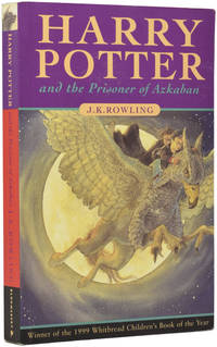Harry Potter and the Prisoner of Azkaban by  (born 1965)  J.K. - Paperback - from Adrian Harrington Rare Books and Biblio.com