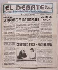 El Debate de Tucson: sirviendo a la comunidad Hispaña de Arizona y Sonora, México; año 2, número 3, 9 de Febrero de 1994