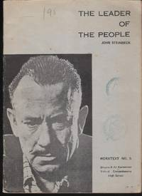 John Steinbek. The leader of the people