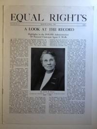 "EQUAL RIGHTS"": Official Organ of  The National Woman's Party, Vol.37, No. 2, March - April, 1951"