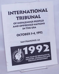 image of International Tribunal of Indigenous Peoples and Oppressed Nations in the USA