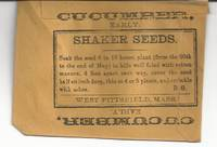 Shaker Cucumber Seed Packet