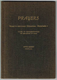 PRAYERS - NINETY-SECOND GENERAL ASSEMBLY - HOUSE OF REPRESENTATIVES OF THE STATE OF OHIO