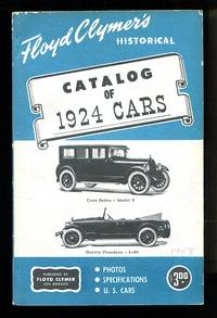 image of Floyd Clymer's Historical Catalog of 1924 Cars