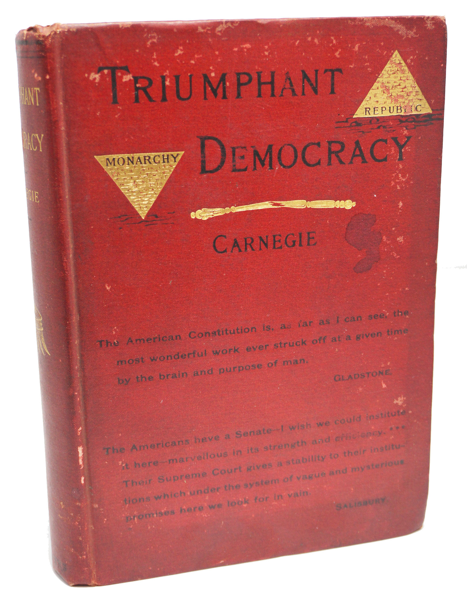 Triumphant Democracy by Andrew Carnegie - 1886