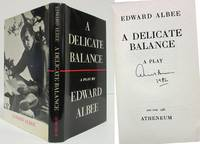 A DELICATE BALANCE (AUTHOR SIGNED COPY)  A Play