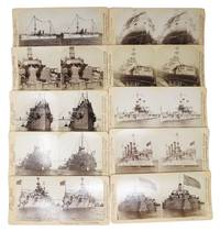 SET Of 10 STEREOVIEWS DEPICTING NAVAL VESSELS Of The ERA