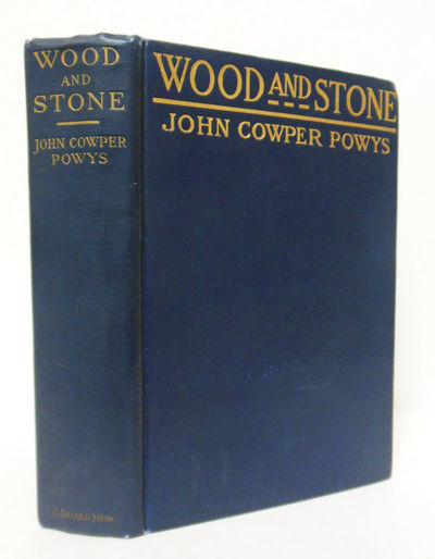 New York: G. Arnold Shaw, 1915. Blue cloth, stamped in gilt. First edition, binding A (no establishe...