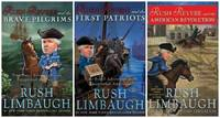 RUSH REVERE 3 BOOK SET Rush Revere and the Brave Pilgrims, First Patriots & American Revolution...