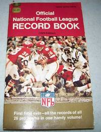 Official National Football League (NFL) Record Book 1970 Edition