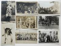 [Thirteen Real Photo Postcards Depicting First Peoples in British Columbia, and Two from Alaska]