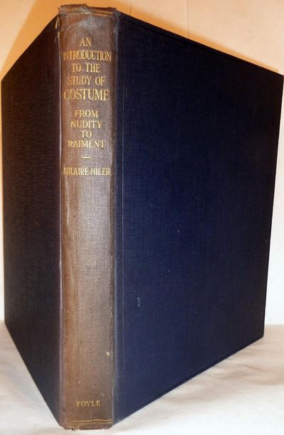 London: W. & G.Foyle, 1929. First edition. Hardcover. Orig. navy cloth chipped at backstrip extremit...