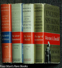 image of A HISTORY OF THE ENGLISH SPEAKING PEOPLES [CANADIAN 1ST]