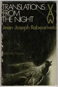Translations From the Night by RABEARIVELO, Jean-Joseph - 1982