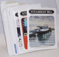 Steamboat Bill, Journal of The Steamship Historical Society of America. [six issues:] Number 192 Winter 1989 vol. XLVI no.4; Number 202 Summer 1992 vol. XLIX no.2; Number 210 Summer 1994 vol. LI no.2 ; Number 221 Spring 1997 vol. LIV no.1; Number 222 Summer 1997 vol. LIV no.2;  Number 224 Winter 1997 vol. LIV no.4  [together as a small lot]