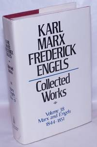 image of Marx and Engels. Collected works, vol 38: 1844 - 1851