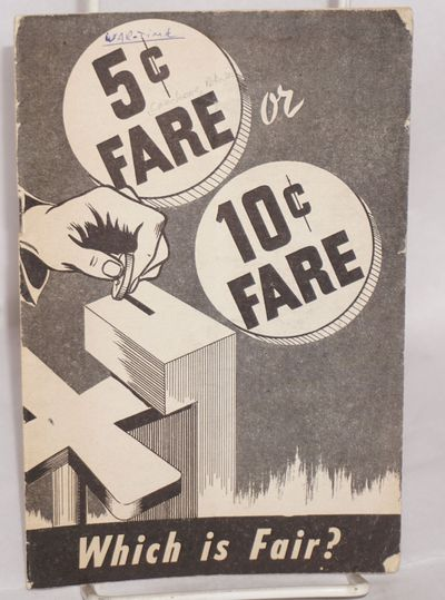 New York: Communist Political Association, 1942. Pamphlet. 23p., worn and soiled stapled wraps showi...
