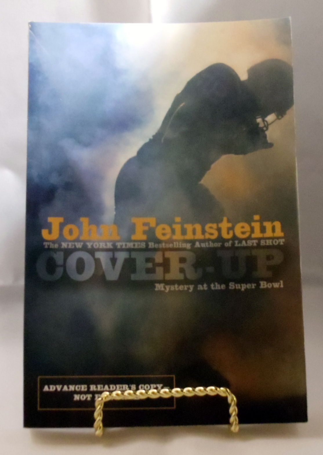 Cover Up Book : Cover up mystery at the super bowl by john feinstein