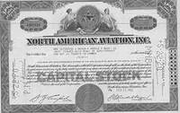 Certificate of 30 Full-paid and Non-assessable Shares of the Par Value of $1 Each by  Inc North American Aviation - from Alan Wofsy Fine Arts and Biblio.co.uk