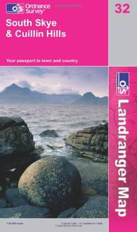 South Skye and Cuillin Hills (OS Landranger Map Series)