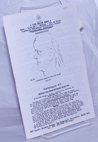 San Francisco, Boyes Hot Springs, CA: Pratum Book Company, 1980. Pamphlet. Unpaginated self-wraps, a...