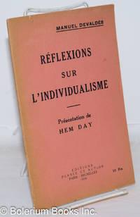 image of Réflexions sur L'Individualisme. Présentation de Hem Day