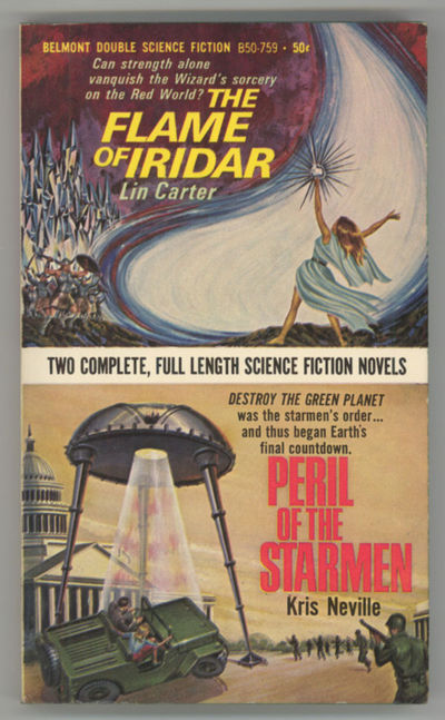 New York: Belmont Books, 1967. Small octavo, pictorial wrappers. First edition. Belmont Double Scien...