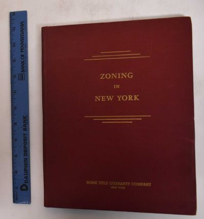 New York: Home Title Guaranty Comapny, 1948. Hardcover. VG (Signed presentation copy, light scuffing...