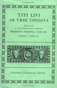Ab Urbe Condita: Volume I:  Books I-V (Oxford Classical Texts) (Bks.1-5) (Latin Edition) by Livy - Hardcover - 1974-07-05 - from Books Express and Biblio.com