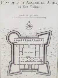 1747 Plan from Prevost's 'Histoire Generale des Voyages': Plan du Fort Anglois de Juida, ou Fort Williams