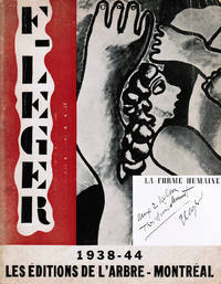 Fernand Léger, la forme humaine dans l'espace [inscribed by Fernand Léger to architect Paul Nelson]