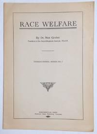 Race Welfare by  Max Gruber - [191-] - from Bolerium Books Inc., ABAA/ILAB (SKU: 255913)