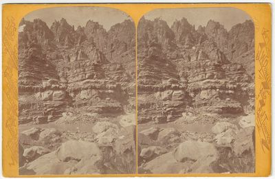 Washington DC: U.S. Geographical and Geological Survey of the Rocky Mountains, 1872. Albumen stereov...