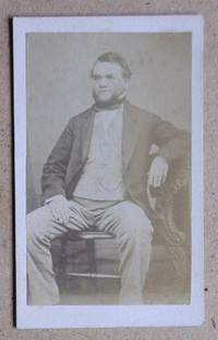 Carte De Visite Photograph. Portrait of a Seated Older Gentleman.