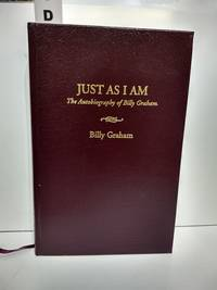 image of Just As I Am: The Autobiography Of Billy Graham (SIGNED)