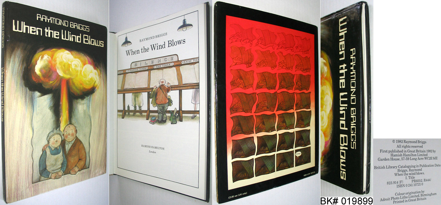when the wind blows raymond briggs When the wind blows is a 1982 comic book and 1986 animated film written by raymond briggs there was also a bbc radio adaptation of the original comic it.