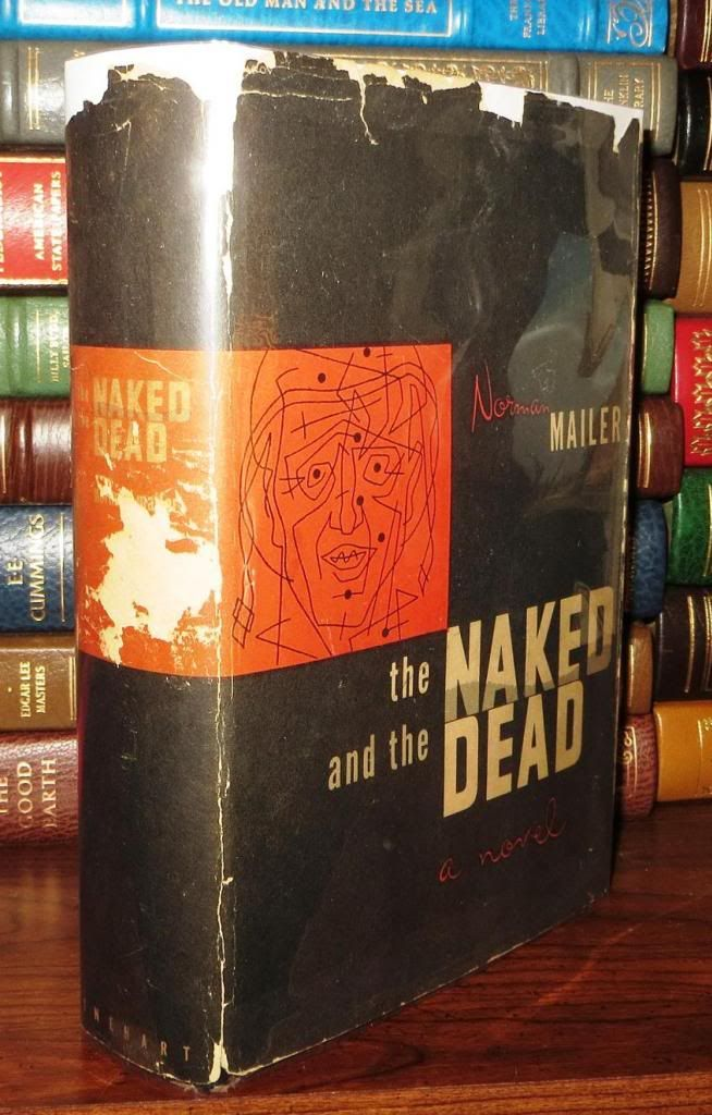The Naked and the Dead by Norman Mailer, First Edition